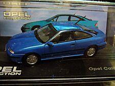 Opel Calibra v6 Coupe 1993 - 1997 azul Blue Ixo Altaya precio especial 1:43