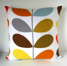 CUSHION COVER  MADE in ORLA KIELY MULTI STEM QUILT FABRIC SKANDI RETRO dd retro