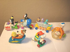 1994 Animaniacs 6 Piece Lot McDonalds Happy Meal toys CAKE TOPPERS