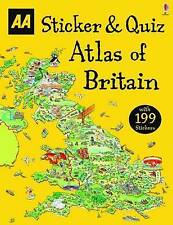 Sticker & Quiz Atlas of Britain by AA Publishing (Paperback, 2016)