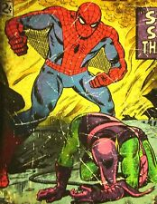SPIDERMAN Green Goblin small T shirt Marvel Comics tee #40 throwback tee 1963