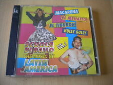 Scuola di ballo music of Latin America vol. 1 1996 CD macarena menaito tiburon