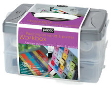 Pebeo Deco Gloss Interior, Furniture & Decor Paint Workbox Set & Accessories