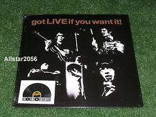"""2013 THE ROLLING STONES~got LIVE if you want~7"""" 45rpm VINYL~RECORD STORE DAY~RSD"""