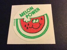 Vintage 80s Matte Trend Scratch and Sniff Stickers Mod - Watermelon - TM
