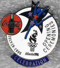 1996 Atlanta Coca-Cola Opening Ceremonies Celebration Olympic Sponsor Pin