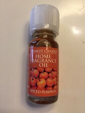 Yankee Candle Home Fragrance Oil SPICED PUMPKIN SCENT- Usa Release