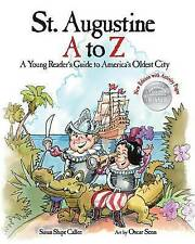 St Augustine Z Young Reader's Guide America's Oldest  by Calfee Susan Shipe