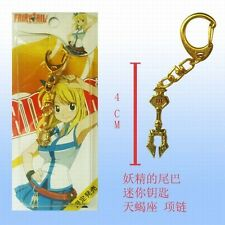 FAIRY TAIL NATSU DRAGONIL CIONDOLO NECKLACE COLLANA CHIAVE MANGA LUCY COSPLAY #2