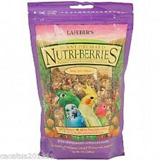 LAFEBER NUTRIBERRIES SUNNY ORCHARD 284G - COCKATIEL FOOD AND ULTIMATE TREAT