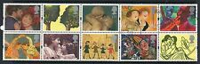 GB 1995 greetings in Art SG1858-1867 fine used set stamps