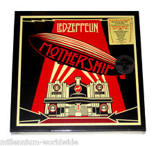 "LED ZEPPELIN MOTHERSHIP - 12"" VINYL - 4 LP GREATEST HITS BOX SET - SEALED, 180g"