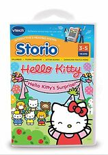 BNIB VTECH HELLO KITTY STORIO INTERACTIVE E-READING SOFTWARE LEARN & PLAY