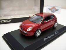 Alfa Romeo MiTo, rotmetallic, 2008, Norev 1:43, OVP