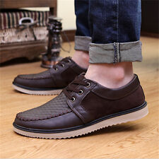 New England Men's Leather Breathable Recreational Shoes Casual shoe  US Size 10