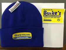 NEW HOLLAND BEANIE HAT ROYAL BLUE