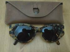 VINTAGE VOGART MOD 3087 COL 510 HAND MADE IN ITALY RETRO SUNGLASSES WITH CASE