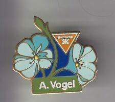 RARE PINS PIN'S .. NATURE FLEUR FLOWER PLANTE BIOFORCE A.VOGEL BEAUTE FORME ~C2