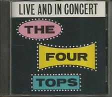 live And In Concert - The Four Tops - CD