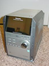 Vintage PANASONIC SA-PM19 5-CD Changer Cassette AM/FM Mini Stereo System