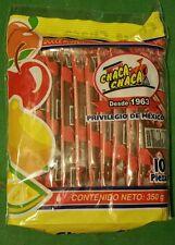 Chaca Chaca El Original Tamarindo de Frutas, sal y Chile **Tamarind Candy** 10pz