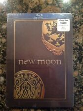 New!~The Twilight Saga: New Moon Steelbook (Blu Ray) NEW-Authentic US Release
