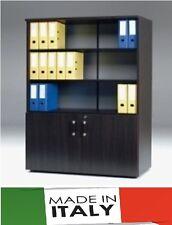 Mobile ufficio a 2 ante legno H 67  - mis. 90 x 48 x 180 H - varie finiture