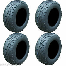Golf Cart Tires Set of 4, 22x11.00R10 Street Fox Radial Tires Only, Lifted Carts