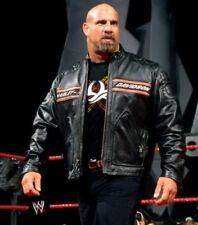 WWE Bill Goldberg Motorcycle Leather Jacket - Best Deal Offer !!