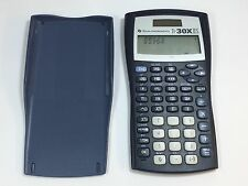 Texas Instruments TI-30XIIS Scientific Calculator Tested Works Great with COVER
