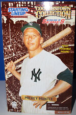 MICKEY MANTLE STARTING LINE UP FULLY POSEABLE FIGURE COOPERSTOWN COLLECTION MIB