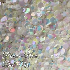 Mixed Nail Glitter Dots Gel/acrylic Nail art Rainbow 5g Bag Pearl Princess