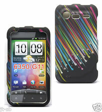 Star Rubber Hard Case For HTC Droid Incredible 2 II,S ADR6350,ADR6350V