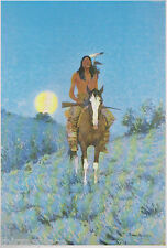 "Frederic Remington ""The Outlier"" -A Native American Indian-,-Western Art-"