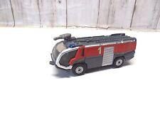A 21 )  camion POMPIERS  SIKU pour train electrique HO 1/87