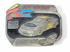 1995 LIMITED JEFF GORDON #24 DUPONT NASCAR PEWTER BELT BUCKLE