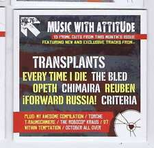 TRANSPLANTS / EVERY TIME I DIE / THE BLED / OPETH +  ROCK SOUND CD Vol. 76