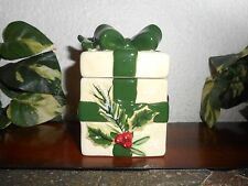 Yankee Candle Winter & Cardinal Bird Tealight Holder Gift Box CHRISTMAS Holly