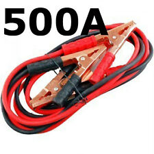500A BOOSTER CABLES - CAR BATTERY JUMP START CABLE - JUMPER LEADS