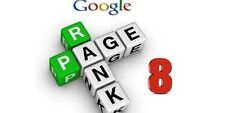1st Page on Google! 10xPR8 DOFOLLOW Backlinks Manually Created for your Website!