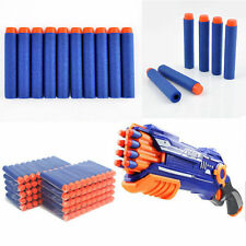 100pcs Kids Refill Toy Gun Bullet Darts Round Head Blasters For NERF N-Strike V