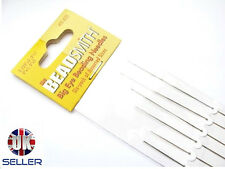 Beadsmith -  A pack of 6  big eye beading needles - Assortment of sizes