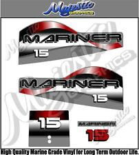 MARINER - 15hp - OUTBOARD DECALS