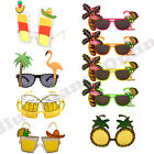 HAWAIIAN NOVELTY GLASSES SUNGLASSES SPECS SUMMER HULA FANCY DRESS HEN STAG PARTY