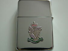 ROYAL IRISH RANGERS  WINDPROOF CHROME PLATED LIGHTER