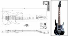 Ibanez Universe® 7-String Electric Guitar Plan