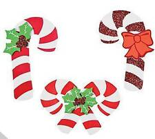 3 Candy Cane Foam Ornaments Craft Kit Christmas Gift Kid Christmas Fun