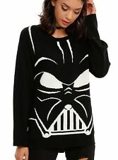 STAR WARS DARTH VADER DISNEY PULLOVER SWEATER WOMENS PLUS SIZE 3X BLACK