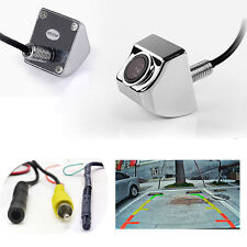4 pin 2in1 Car Rear Back Side Front View CCD 170° Parking Waterproof Camera C083