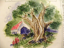 Bare Oak tree (no leaves) RETIRED L@@K @ examples Art Impressions Rubber Stamps